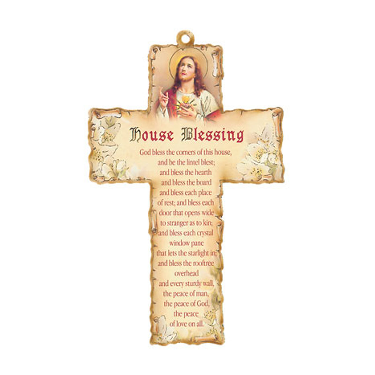 House Blessing Cross Plaque (GIF1-004)