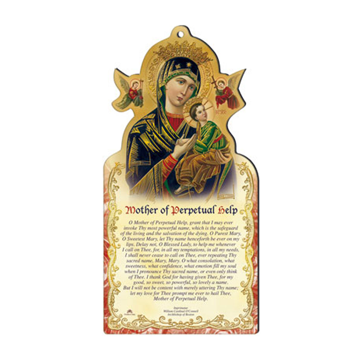 Perpetual Help Wood Plaque (GIF1-021)