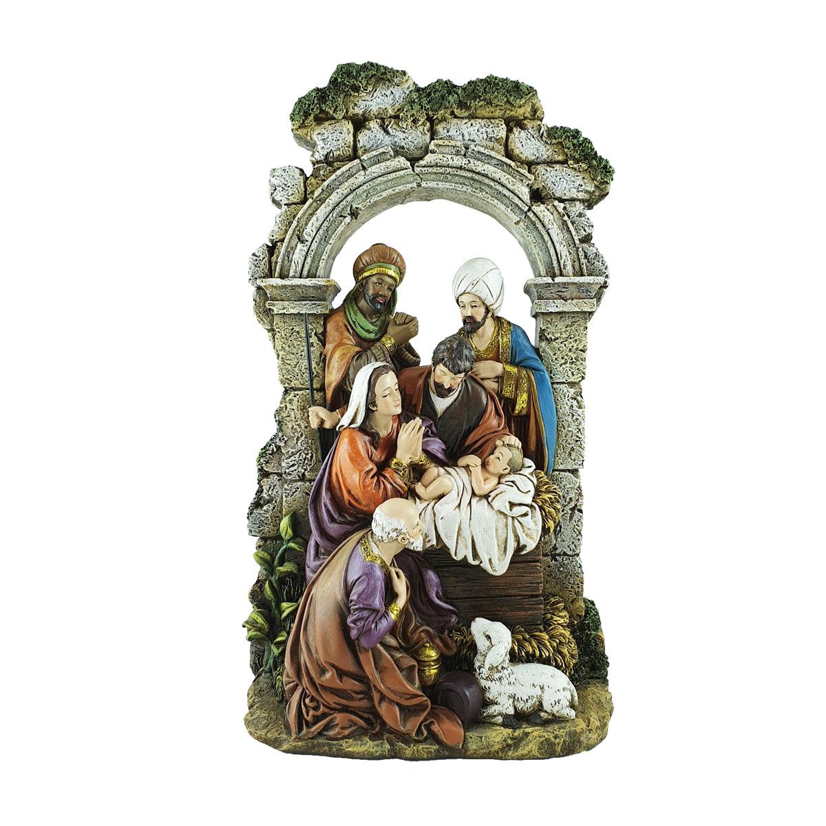 Stone Arch Nativity (CHR1-036)