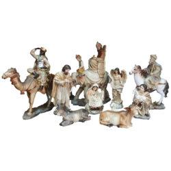 Nativity Scene with Camel, Horse and Elephant