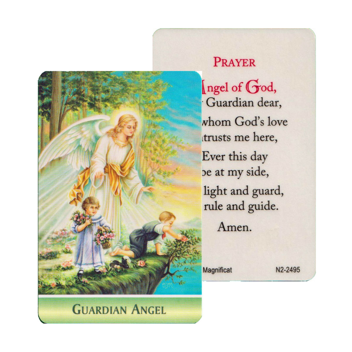 Guardian Angel Prayer Card (CAR1-014)