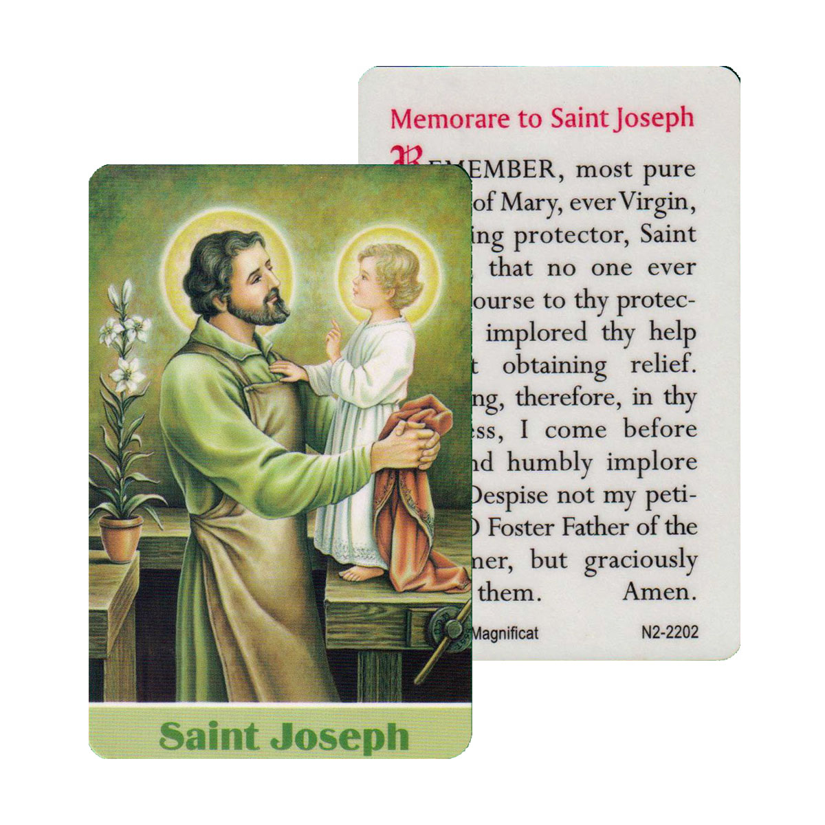 St Joseph Prayer Card (CAR1-019)