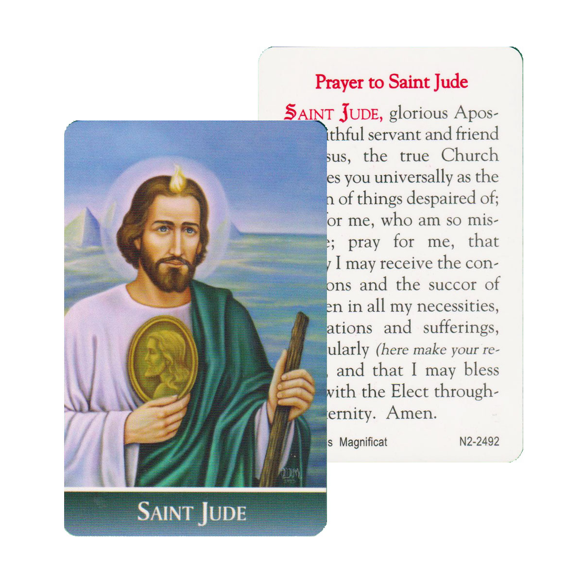 St Jude Prayer Card (CAR1-020)